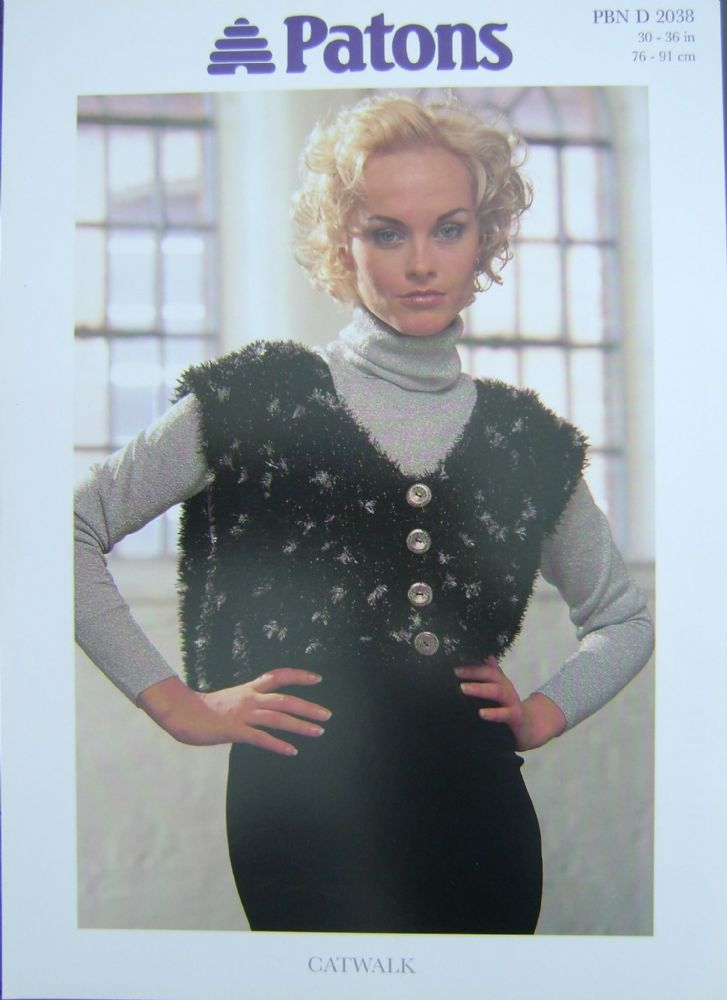 Patons Knitting Pattern 2038